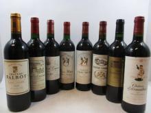12 bouteilles  3 bts : CHÂTEAU CLERC MILON 1986 5è GC Pauillac 2 bts : CHÂTEAU CLERC MILON 1995 5è GC Pauillac 1 bt : CHÂTEAU LA...