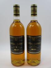 6 bouteilles CHÂTEAU GUIRAUD 1989 1er cru Sauternes (3 base goulot, étiquettes légèrement abimées) (cave 6)