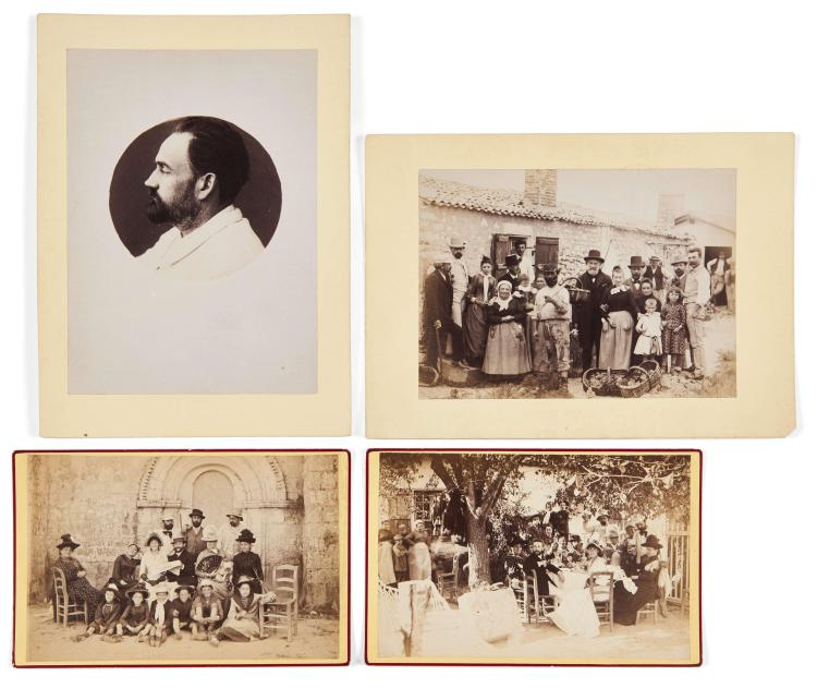 Victor Billaud (attribué à) et divers 1852-1936 Vacances à Royan - août 1888