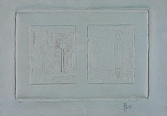 Alain KLEINMANN (né en 1953) QUESTIONS - REPONSES Sculpture sur papier