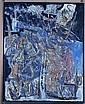 Jacques DOUCET (1924 - 1994) JORN SI LE SOLEIL SEUL NOUSE......, 1985 Oil on canvas, Jacques (1924) Doucet, Click for value
