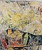 Carl-Henning PEDERSEN (1913-1993) L'EGLISE ET LES ETOILES, 1951 Oil on canvas, Carl-Henning Pedersen, Click for value