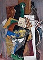 Serge FERAT (Moscou, 1881 - Paris, 1958) COMPOSITION, 1917 Gouache on paper, Serge Férat, Click for value