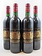 4 bouteilles CHÂTEAU PALMER 2000 3è GC Margaux
