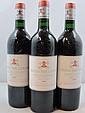 12 bouteilles CHÂTEAU PAPE CLEMENT 1993 CC Pessac Léognan