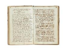 Marie-Jeanne-Amélie de VIGNY 1757-1837 Manuscrit autographe sur la musique