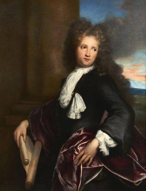 Attribué à Henri de FAVANNE 1668 - 1752 Portrait de Jean-François Regnard