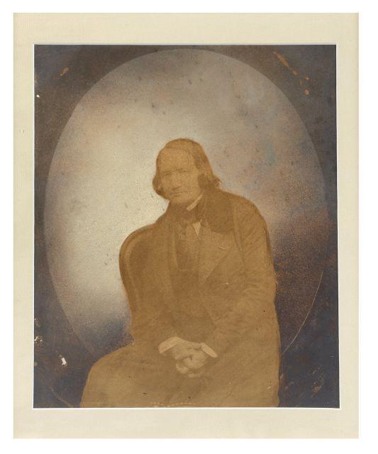 Portrait d'' Alfred de Vigny