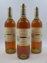 12 bouteilles JURANCON 1996 Cuvée pour René. Domaine de Souche (étiquettes fanées) (cave 12)