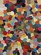 ¤ Bernard FRIZE (né en 1949) SUITE SEGOND 2293, 1981 Peaux découpées à la surface des pots laissés ouverts sur toile, Bernard Frize, Click for value