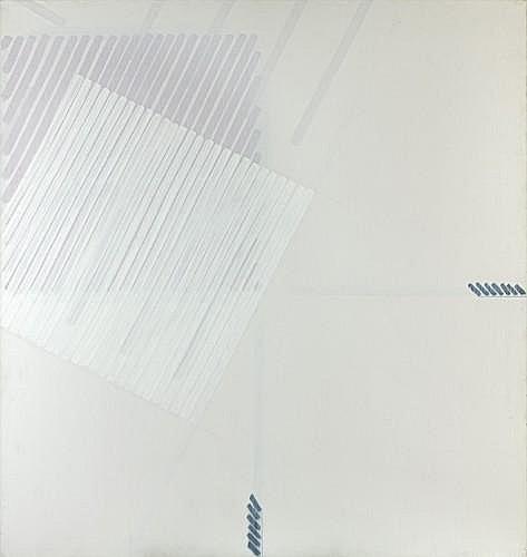 Martin BARRE (1924 - 1993) 76-77-B- 170 X 160, 1976-77 Acrylique sur toile