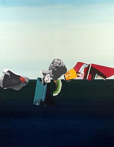 Peter KLASEN (né en 1935) LE DICTIONNAIRE DU BONHEUR (PREMIERE PARTIE), 1964