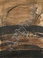 Daniel DEZEUZE (né en 1942) SANS TITRE, 1984 Technique mixte sur papier, Daniel Dezeuze, Click for value