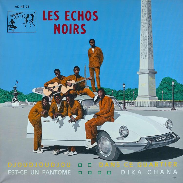 Vincent MICHÉA Né en 1963 Les échos noirs - 2006 Acrylique sur toile