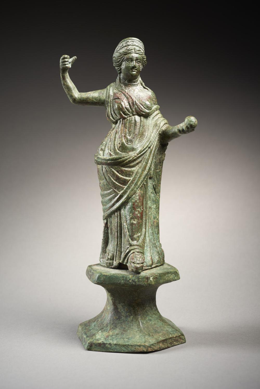 VÉNUS GENITRIX EN BRONZE Art romain d'Orient, 3e siècle