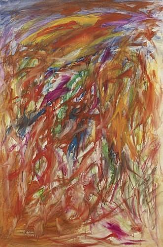 Mubin ORHON (1927 - 1981) COMPOSITION ABSTRAITE, 1963 Huile sur toile