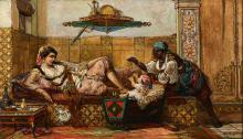 Jan Baptist HUYSMANS 1826 - 1906 L'héritier du Caïd