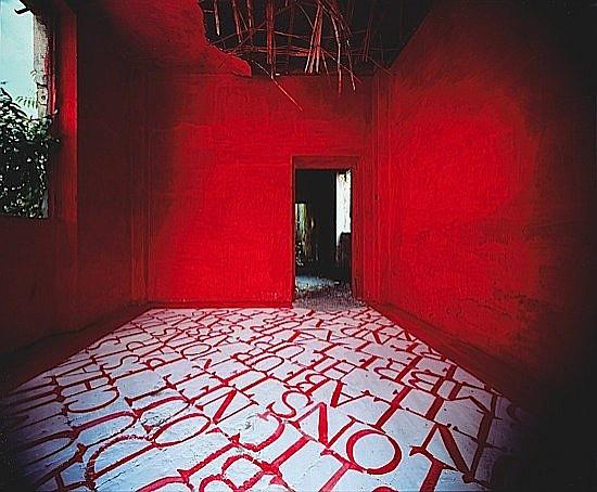 Georges ROUSSE (né en 1947) LATINA, 1987 Tirage chromogénique sur aluminium