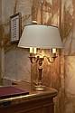 PAIRE DE LAMPES BOUILLOTTES DE STYLE LOUIS XVI