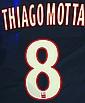 Maillot de football customisé de Thiago Motta Mise à prix: 200 €