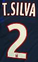 Maillot de football customisé de Thiago Silva Mise à prix: 200 €
