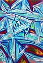 DARCO (né en 1968) AUTOGRAFF-RAIZ, 2013 Peinture aérosol et marqueurs sur toile