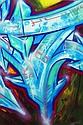 DARCO (né en 1968) AUTOGRAFF-OMEGA, 2013 Peinture aérosol et marqueurs sur toile