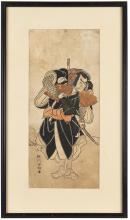Katsukawa Shunko (1743-1812) 胜川春吉(1743-1812)