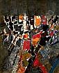Jacques GERMAIN (1915-2001) COMPOSITION # 48, 1968 Huile sur toile signée et d..., Jacques (1915) Germain, Click for value