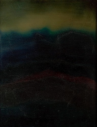 Frédéric BENRATH (Né en 1930) DESERT N°9, 1974 Huile sur toile signée, titrée ...