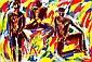 SALOME (né en 1954) ROMANTIC SCENE, 1983 Acrylique sur toile signée, titrée et..., Wolfgang Ludwig Cihlarz, Click for value