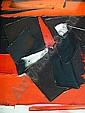 Jan MEIJER (1927-1995) LA CRUE DU NIL, 1991 Huile sur toile signée en bas à ga...