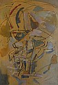 Reynold ARNOULD (1919-1980) COMPOSITION CUBISTE, CIRCA 1950 Gouache et encre sur papier..., Reynold Arnould, Click for value