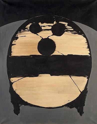 Pierre DMITRIENKO (1925-1974) LE SOLDAT Huile sur toile