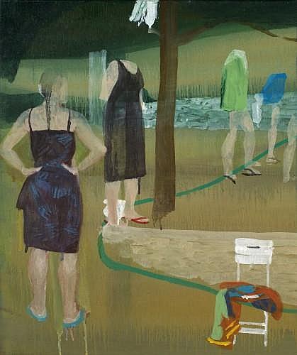 Marc DESGRANDCHAMPS (né en 1960) SANS TITRE, 2004 Huile sur toile
