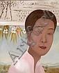LI SHUANG (Né en 1957) RIZIERE ROSE, 2004 Huile sur toile, Shuang Li, Click for value