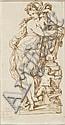 Jan Claudius de Cock Anvers, 1668 - (?), 1735 Recto : Vénus et l'Amour ; Verso : Ulysse et ses compagnons aveuglant Polyphème Plume..., Jan Claudiusde Cock, Click for value