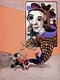 MATTOTTI Lorenzo (né en 1954) Hommage à Picasso Crayons et pastels gras de couleur pour la couverture de la revue «Art'e'» N°2..., Lorenzo Mattotti, Click for value
