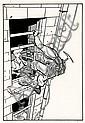 CHALAND Yves (1957-1990) Alpinisme Encre de Chine et trame du gris pour une illustration publiée dans Télérama. 30,6x21,5cm...., Yves Chaland, Click for value