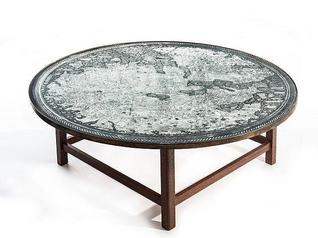 Josef frank 1885 1967 rare table basse 1930 pi tement en a - Pietement table basse ...