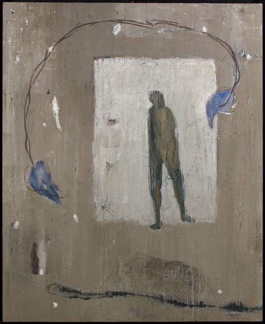 Mohamed KACIMI 1942 - 2003 LE TOURBILLON - 1999 Acrylique sur toile