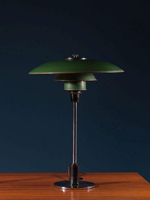poul henningsen 1894 1967 lampe de table mod ph 3 2 193. Black Bedroom Furniture Sets. Home Design Ideas