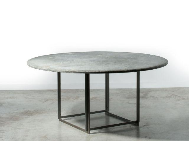 Poul KJAERHOLM 19291982 Table mod PK 54  1963 Piètement e