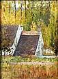 Louis Welden HAWKINS (Stuttgart, 1849 - Paris, 1910) Vue d'une maison devant un bois Toile marouflée sur carton, Louis Welden Hawkins, Click for value