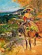 ¤Alcide Théophile ROBAUDI (1850-1928) JEUNE NICOISE, RETOUR DE MARCHE Aquarelle sur papier, Alcide Robaudi, Click for value