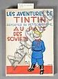 TINTIN - N°1 LES AVENTURES DE TINTIN REPORTER DU PETIT «VINGTIÈME» AU PAYS DES SOVIETS Éditions Splendeur Belge