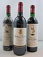 10 bouteilles 6 bts : CHÂTEAU GISCOURS 2001 3è GC Margaux