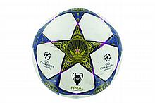 THE BALL USED IN THE PARIS SAINT-GERMAIN / FC BARCELONA CHAMPIONS LEAGUE MATCH ON 2 APRIL 2013