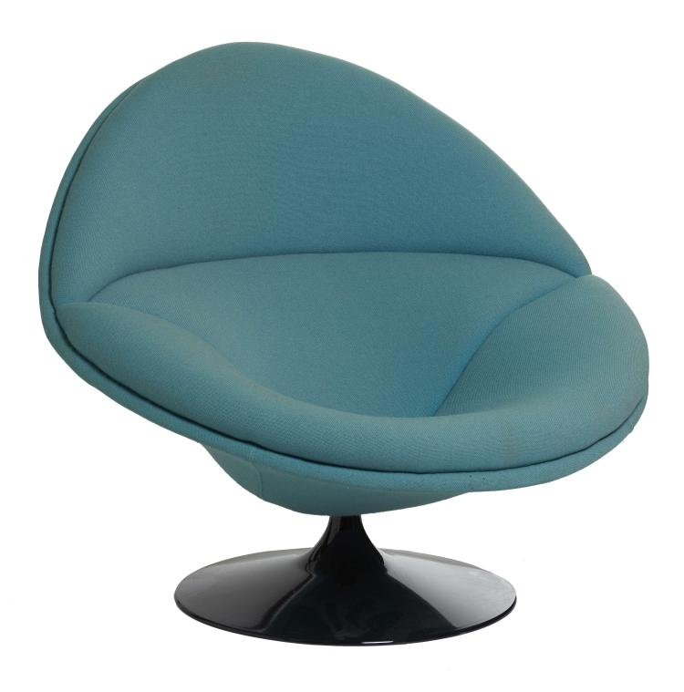 pierre paulin 1927 2009 fauteuil mod f 553 cr ation 1. Black Bedroom Furniture Sets. Home Design Ideas