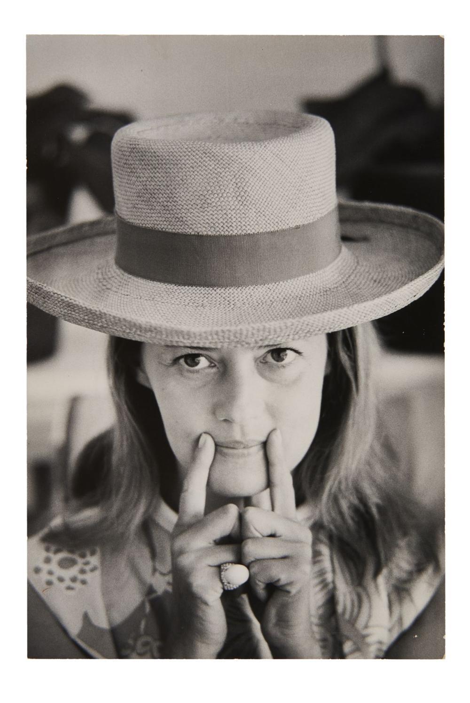 Slim AARONS 1916-2006 Jeanne Moreau - 1970